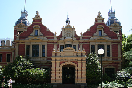 Melbourne university 1888 building