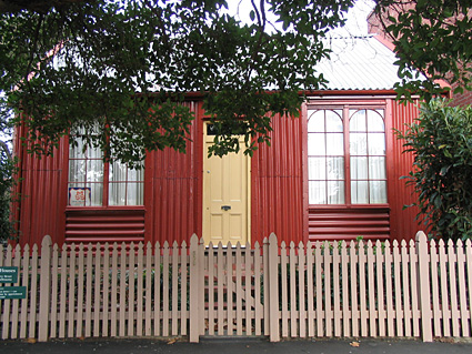 Corrugated Iron House